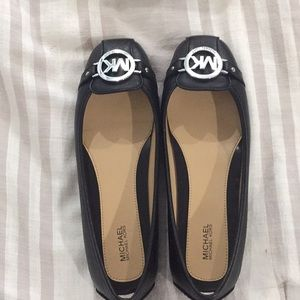 Michael Kors leather moccasins